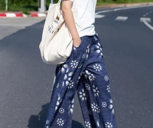 free shipping, etsy, and blue pants image