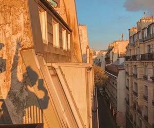 aesthetics, paris, and sunset image