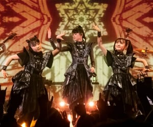 babymetal, su-metal, and moametal image