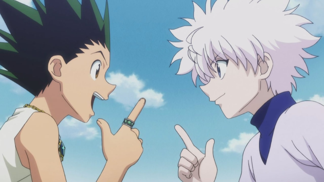 anime, friendship, and hxh image