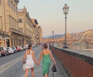 city, europe, and friendship image