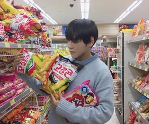 asia, chips, and korean image