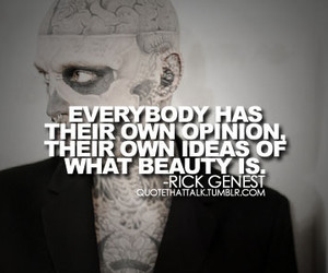 tattoo, rick genest, and beauty image