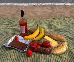 picnic, beach, and food image