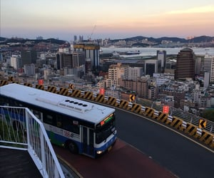 asia, scenery, and bus image