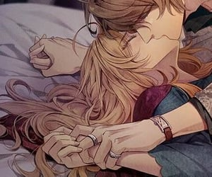 anime and kissing image