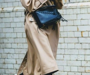 beige, cross body bag, and fashion image