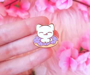 etsy, pin collection, and rainbow enamel pin image