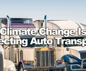 Climate Change Is Affecting Auto Transport
