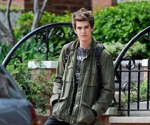 boy, andrew garfield, and green image