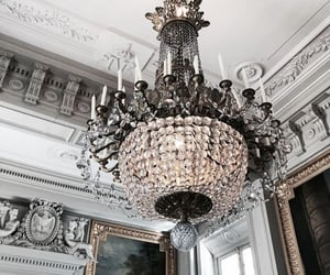 house, chandelier, and decor image