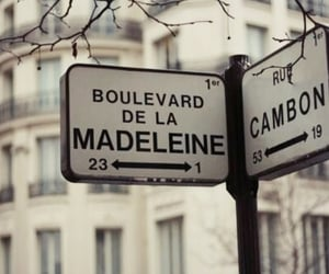 paris, street, and france image
