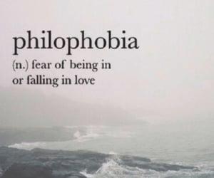 phobia, philophobia, and wallpaper image