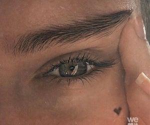 eye, girl, and heart image