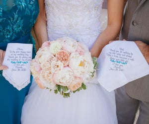 etsy, handkerchief, and mother of the bride image
