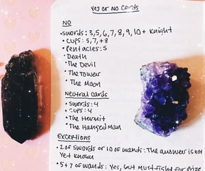 advice, aesthetic, and crystals image