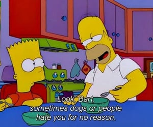 bart simpson, people, and the simpsons image