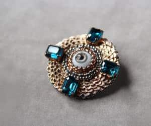 art deco, costume jewelry, and etsy image