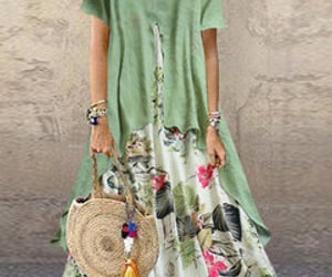 maxi dress with pockets image