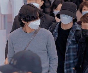 aesthetic, taehyung, and vkook image