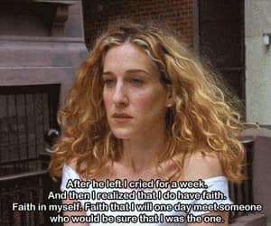 blonde, Carrie Bradshaw, and faith image
