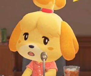 animal crossing, isabelle, and new horizons image