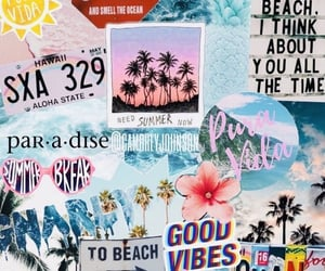 wallpaper, beach, and summer image
