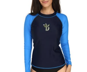printed tops and tops for swimming image