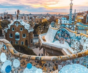 Barcelona, city, and places image
