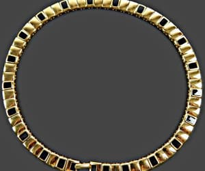 etsy, gold and black, and gold jewelry image