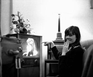 70s, black & white, and singer image