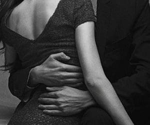 boy, kiss, and woman image