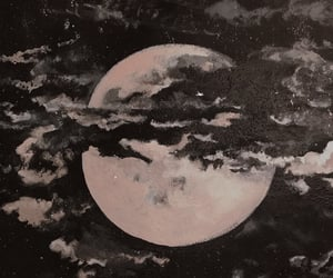beautiful, black, and cloud image