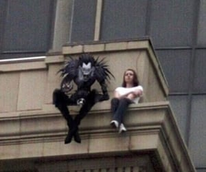 anime, death note, and dark image