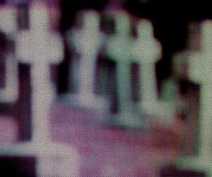 cemetery, digital art, and graveyard image