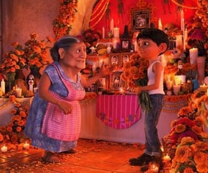 cartoon, coco, and color image