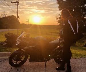bike, nature, and ride image