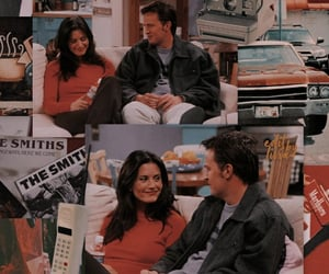 90s, couple, and monica geller image