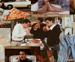 90s, chandler bing, and friendship image