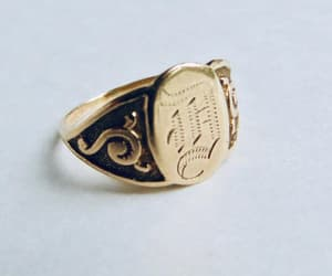 etsy, vintage ring, and antique ring image