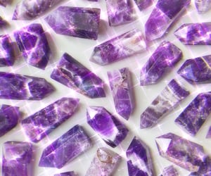 aesthetic, crystals, and crystal aesthetic image