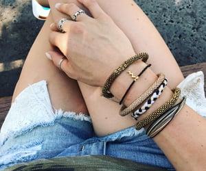 bracelets, sashkaco, and fashion image
