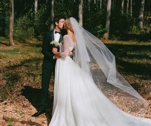 country, couple, and weeding image