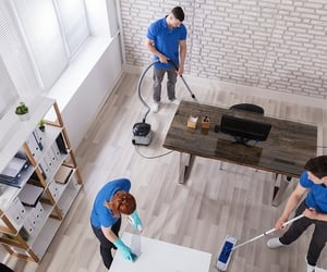 janitorial services and condominium cleaning image