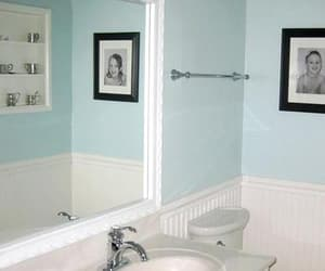 mirror frame, bathroom mirror frames, and white mirror frames image