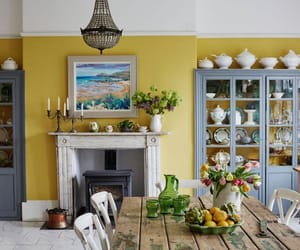 decor, home decor, and dining room image