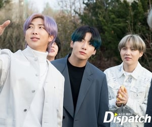 army, yoongi, and namjoon image