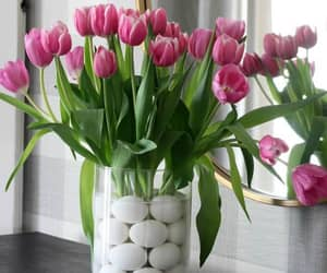 easter decorations, easter table decor, and easter table decorations image