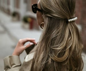 aesthetic, barrette, and beauty image