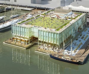 pier 17, shop architects, and rooftop pier 17 image